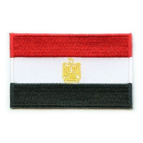Egypt flag patch