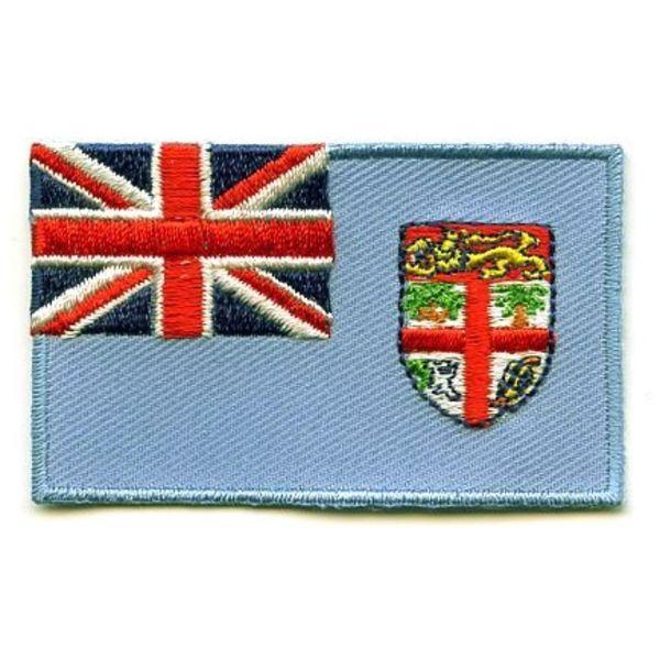 Fidschi-Flaggenflecken