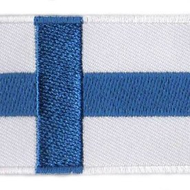 Flaggenpatch Finnland