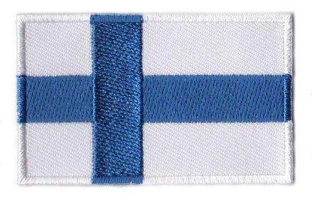 vlag patch Finland