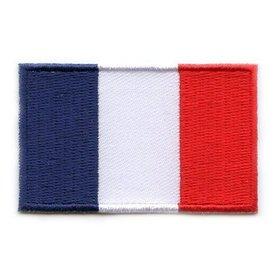 Flaggenpatch Frankreich
