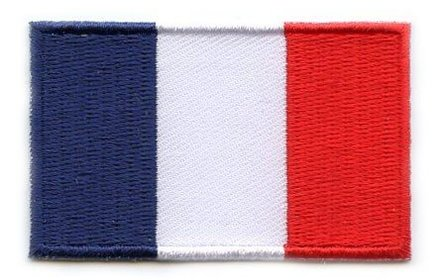 Flaggen-Patch Frankreich