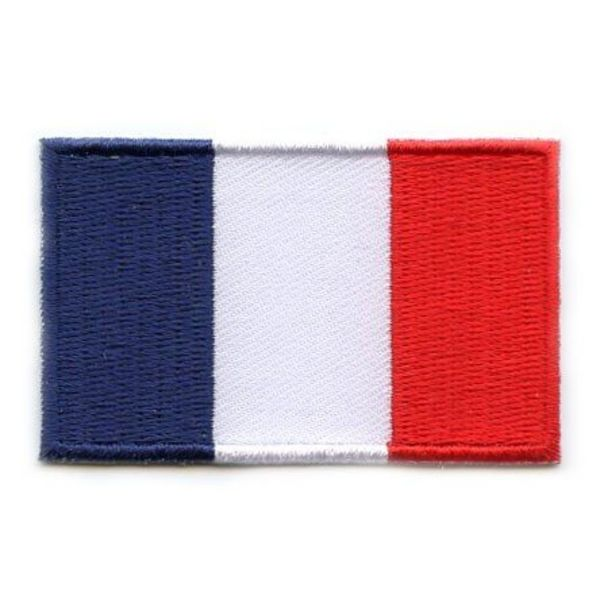 French flag patch