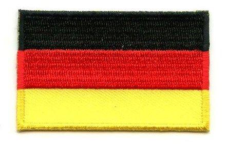 Flaggen-Patch Deutschland
