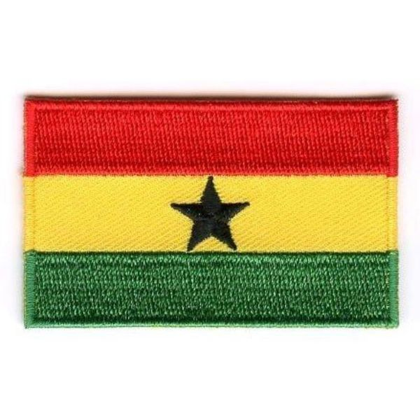 BACKPACKFLAGS flag patch Ghana