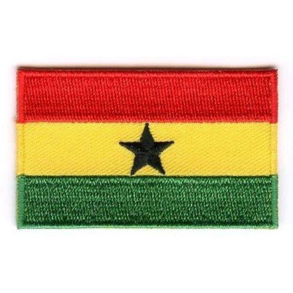 Ghana Flag Patch