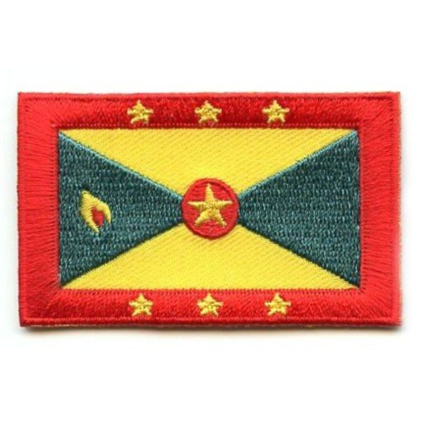 BACKPACKFLAGS flag patch Grenada