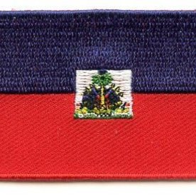 Flaggenpatch Haïti