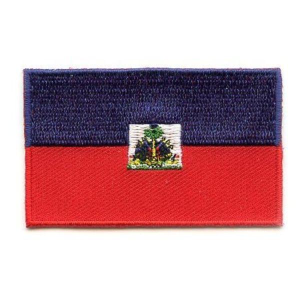 Haïtian flag patch