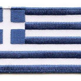 Flaggen-Patch Griechenland
