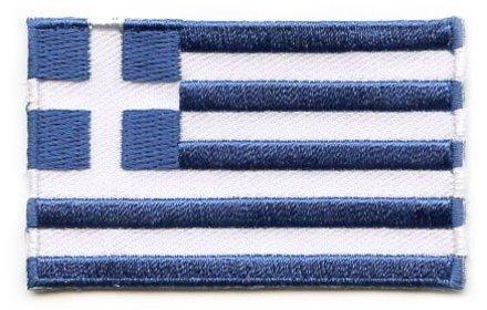 vlag patch Griekenland