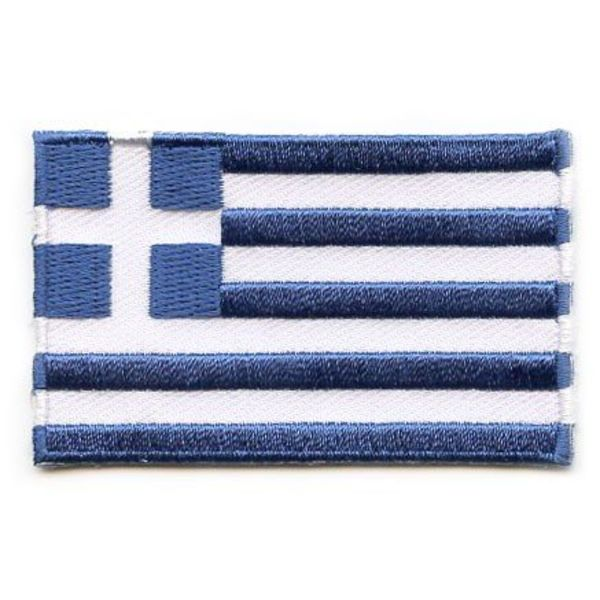 Griechische Flagge Patch