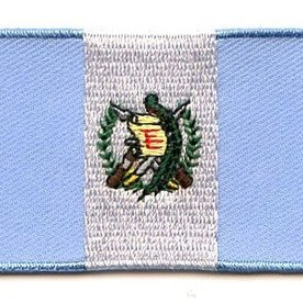 BACKPACKFLAGS flag patch Guatemala
