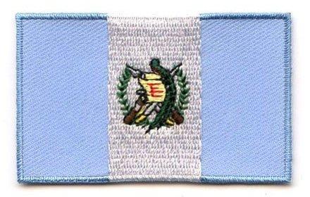 flag patch Guatemala
