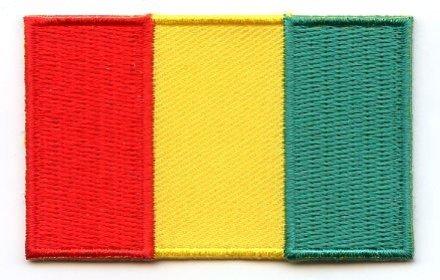 flag patch Guinea
