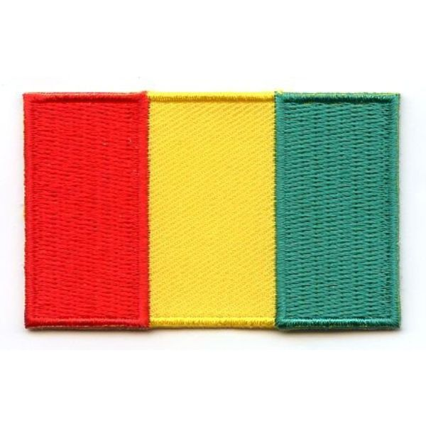 BACKPACKFLAGS flag patch Guinea