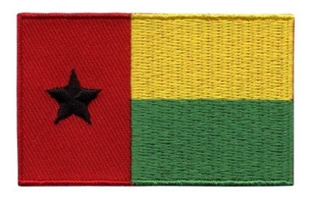 flag patch Guinea-Bissau