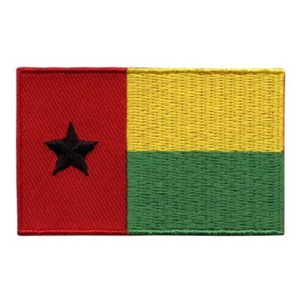 BACKPACKFLAGS flag patch Guinea-Bissau