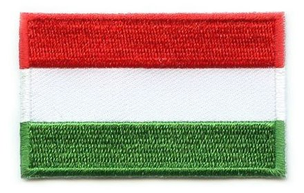 flag patch Hungary