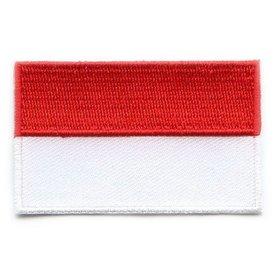 Flaggen-Patch Indonesien