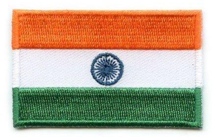 Flaggen-Patch Indien