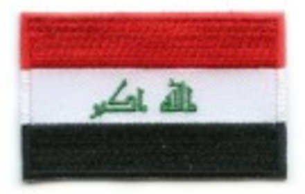 flag patch Iraq