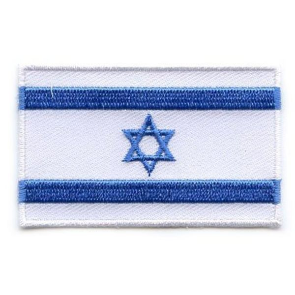 BACKPACKFLAGS flag patch Israel