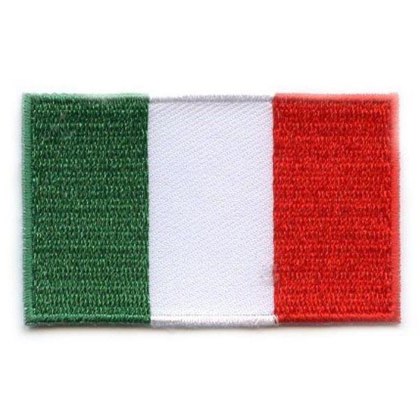 Italienischer Flaggen-Patch