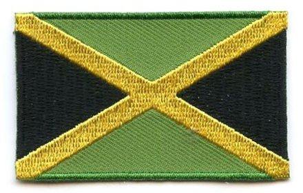 Flaggenpatch Jamaika