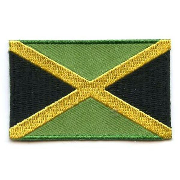 BACKPACKFLAGS flag patch Jamaica