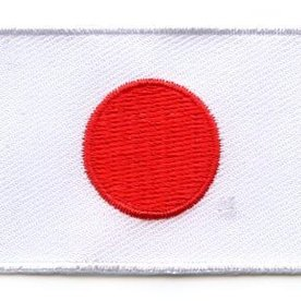 Flaggenpatch Japan