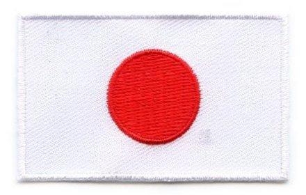 vlag patch Japan