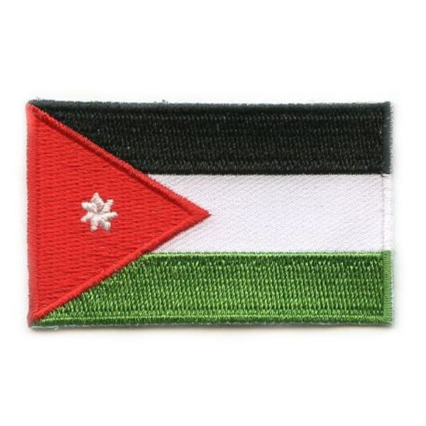 Jordanien flag patch