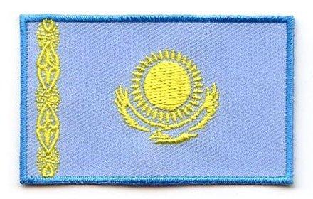 flag patch Kazakhstan