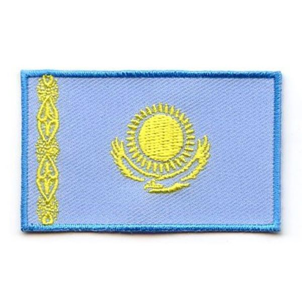 BACKPACKFLAGS flag patch Kazakhstan
