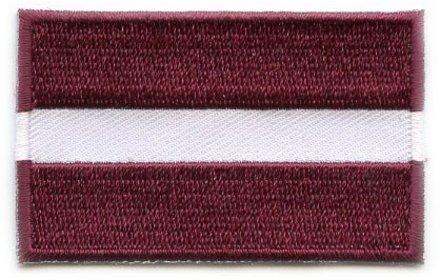vlag patch Letland