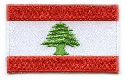 flag patch Lebanon