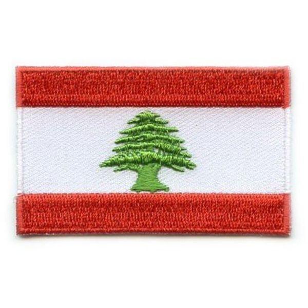 Flagge Patch Libanon