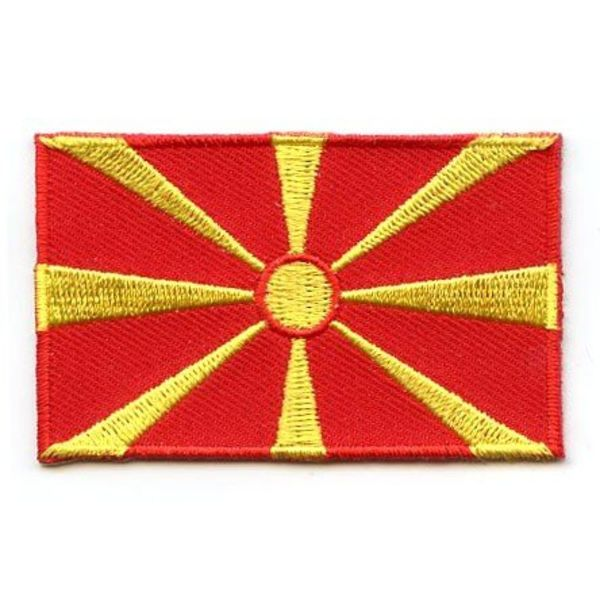 BACKPACKFLAGS flag patch Macedonia