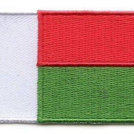 Flagge Patch Madagaskar