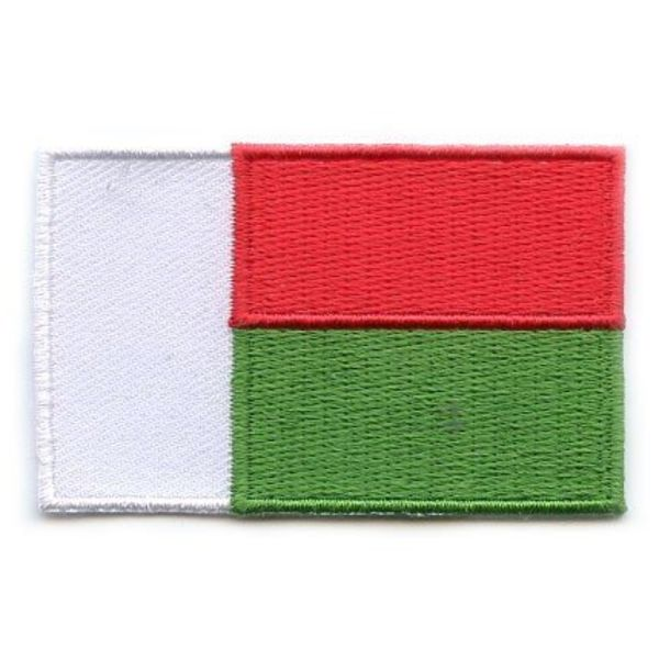 BACKPACKFLAGS flag patch Madagascar
