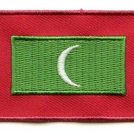 flag patch Maldives