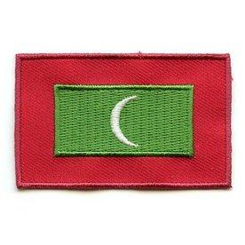 Flagge Patch Malediven