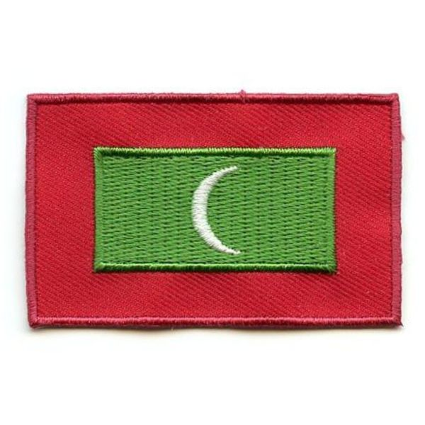 BACKPACKFLAGS flag patch Maldives