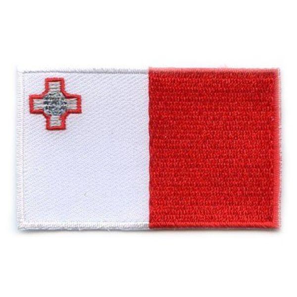 Flaggenpatch Malta