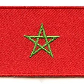 flag patch Morocco