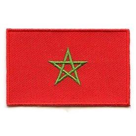 Flaggen-Patch Marokko