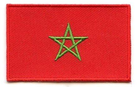 vlag patch Marokko
