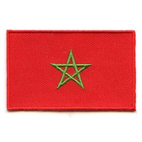 Marokko flag patch