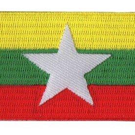 BACKPACKFLAGS flag patch Myanmar